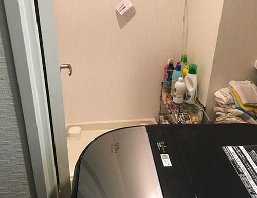 洗濯機置き場に設置できない