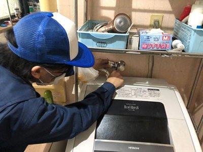 経験豊富な洗濯機設置の専門スタッフがご対応
